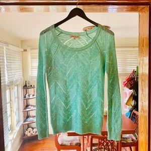 Olive & Oak Lightweight Mint Sweater